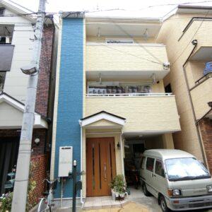 都島区 外壁塗装 施工例(K様邸)