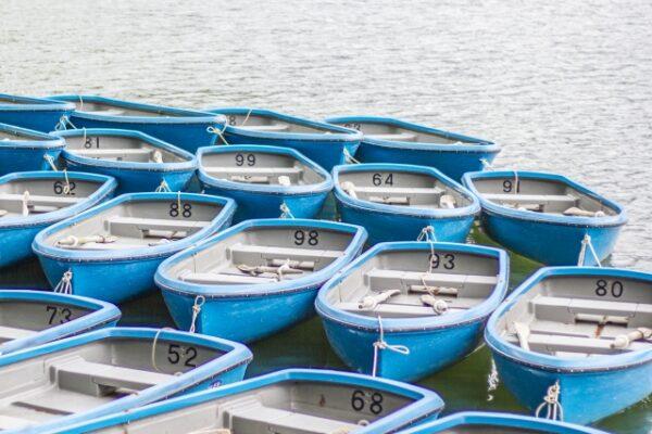 手こぎボート(昭和ロマン✨)