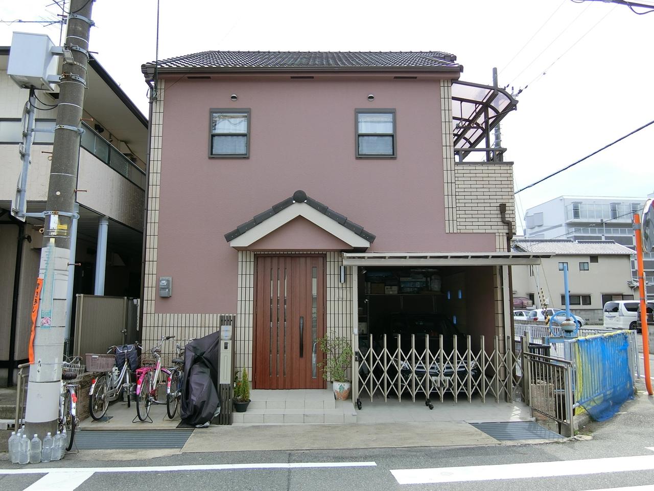 尼崎市 外壁塗装 施工例(Y様邸)